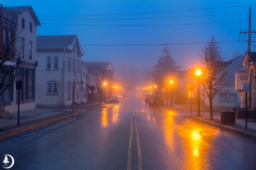 Foggy Downtown Atglen
